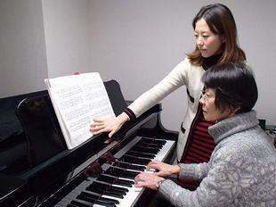 ピアノ個人レッスンのイメージ